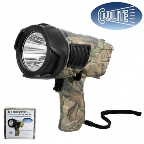 Clulite Clu-Briter Sport Rechargeable LED Spotlight 700m