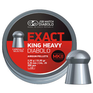 JSB Exact King Heavy MKII .25
