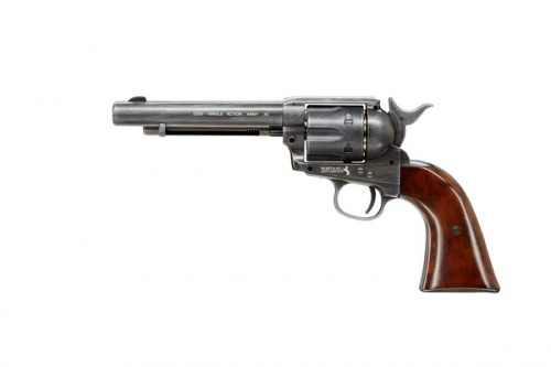 Colt SAA Revolver Peacemaker Pellet .177 Antique Finish