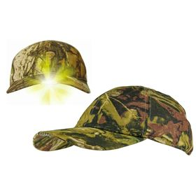 Jack Pyke LED Camo Wildfowlers Cap