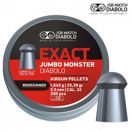 JSB Exact Jumbo Monster Redesigned .22