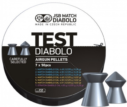 JSB Match Diabolo Test Middle Weight .177