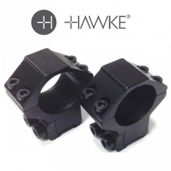 Hawke Ring Mounts 9-11mm 1 Inch  High or Medium