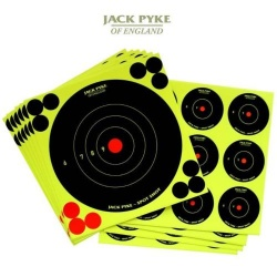 Jack Pyke Mixed Spot Shot Targets 6 x 6'' and 4 x 2