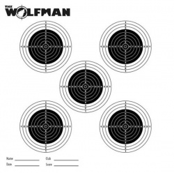 Wolfman Air Rifle MatchTargets 17x17cm Pack of 100